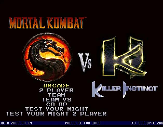 Mortal Kombat VS Killer Instinct-download