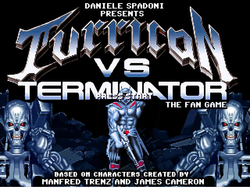 TURRICAN vs TERMINATOR