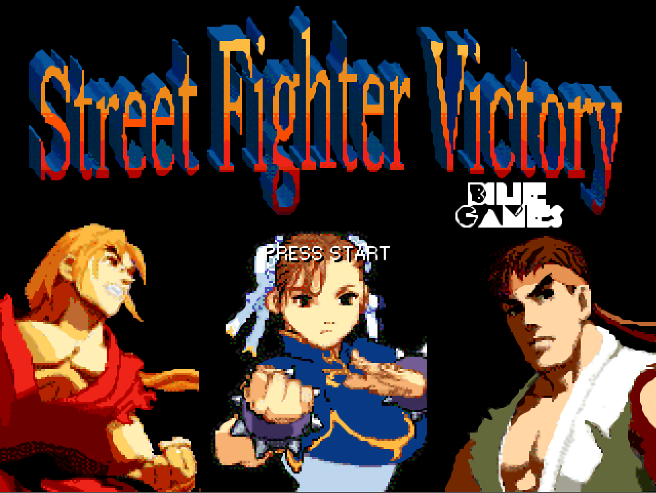Street Fighter Victory