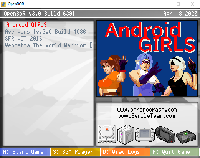 Android GIRLS