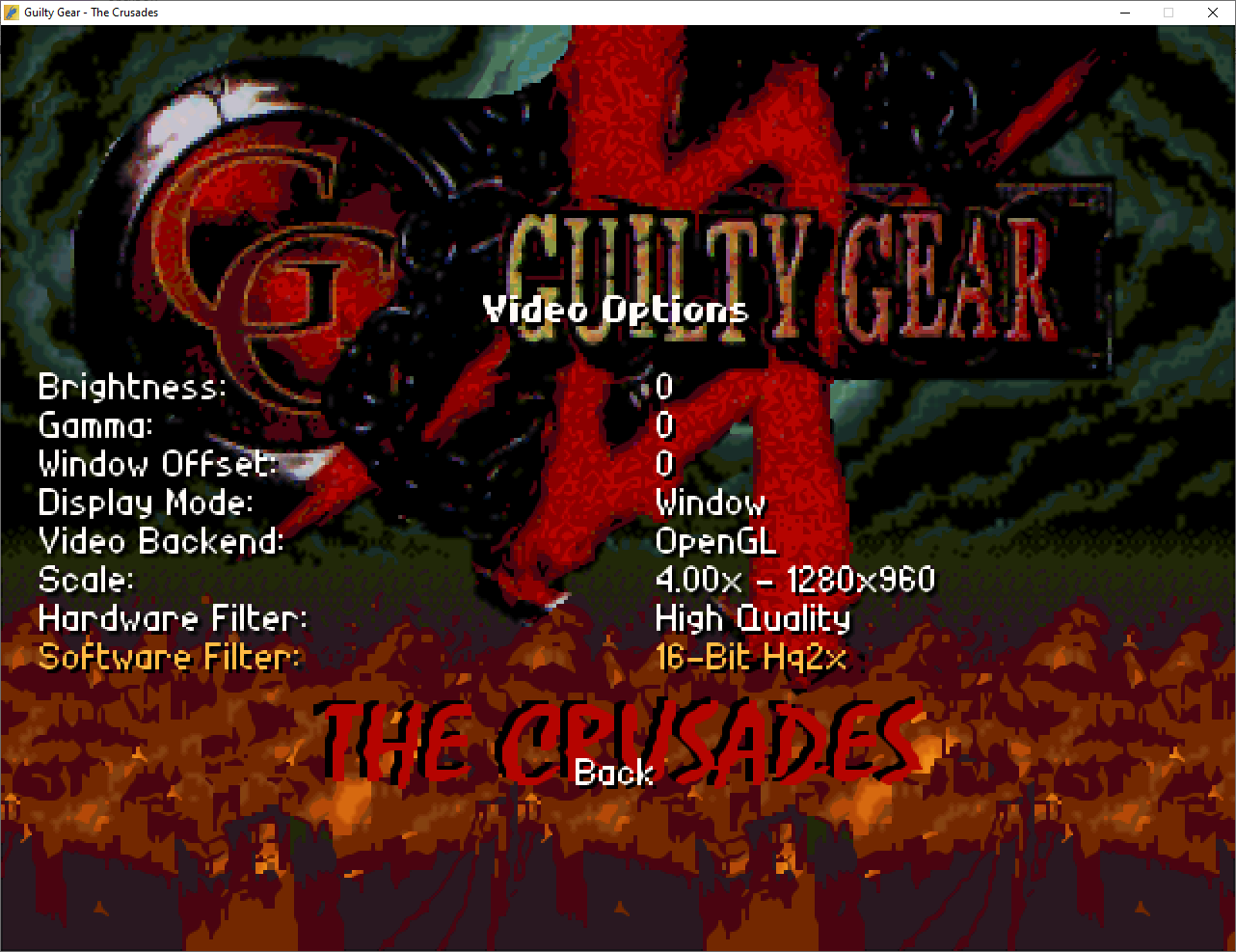 Guilty Gear - The Crusades