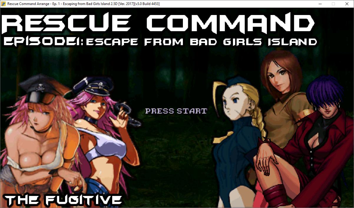 Rescue Command Arrange-Bad Girls Island