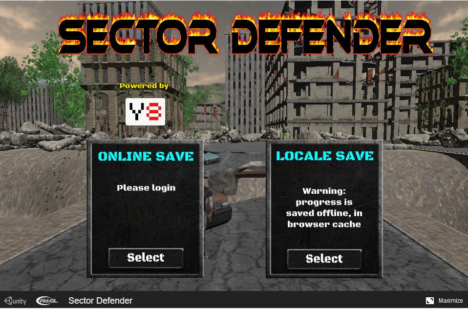 Sector Defender webgl 3d game