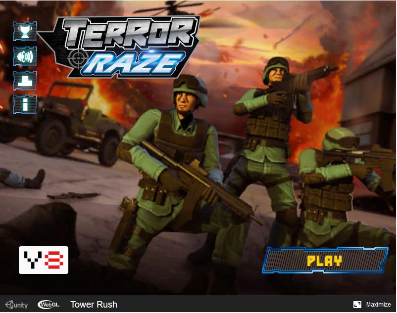 Terror Raze webgl 3d shooter