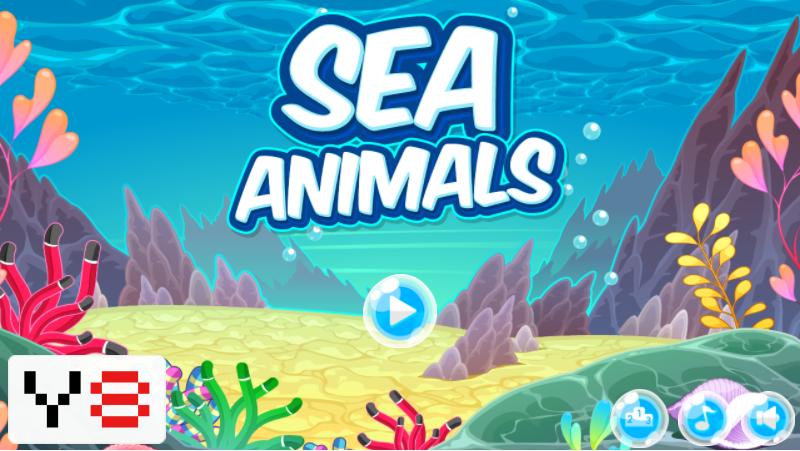 Sea Animals HTML5 puzzle online