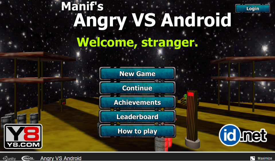 Manif's Angry Vs Android 3d webgl