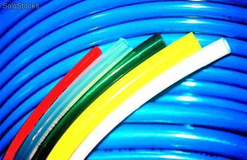 mangueira pneumática de poliuretano azul