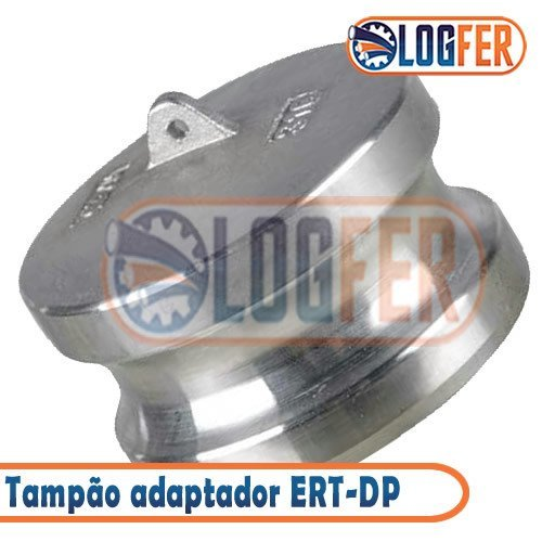 Engate Rápido ERT-DP tampão Adaptador inox