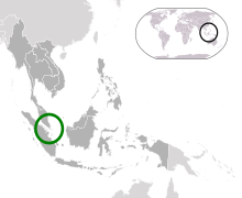 新加坡的位置   东盟的位置