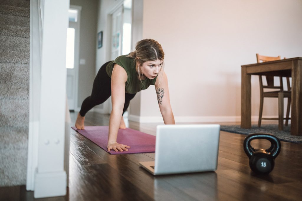 Working From Home With Exercise