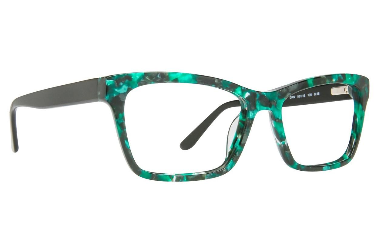 GX By Gwen Stefani GX037 Green Eyeglasses