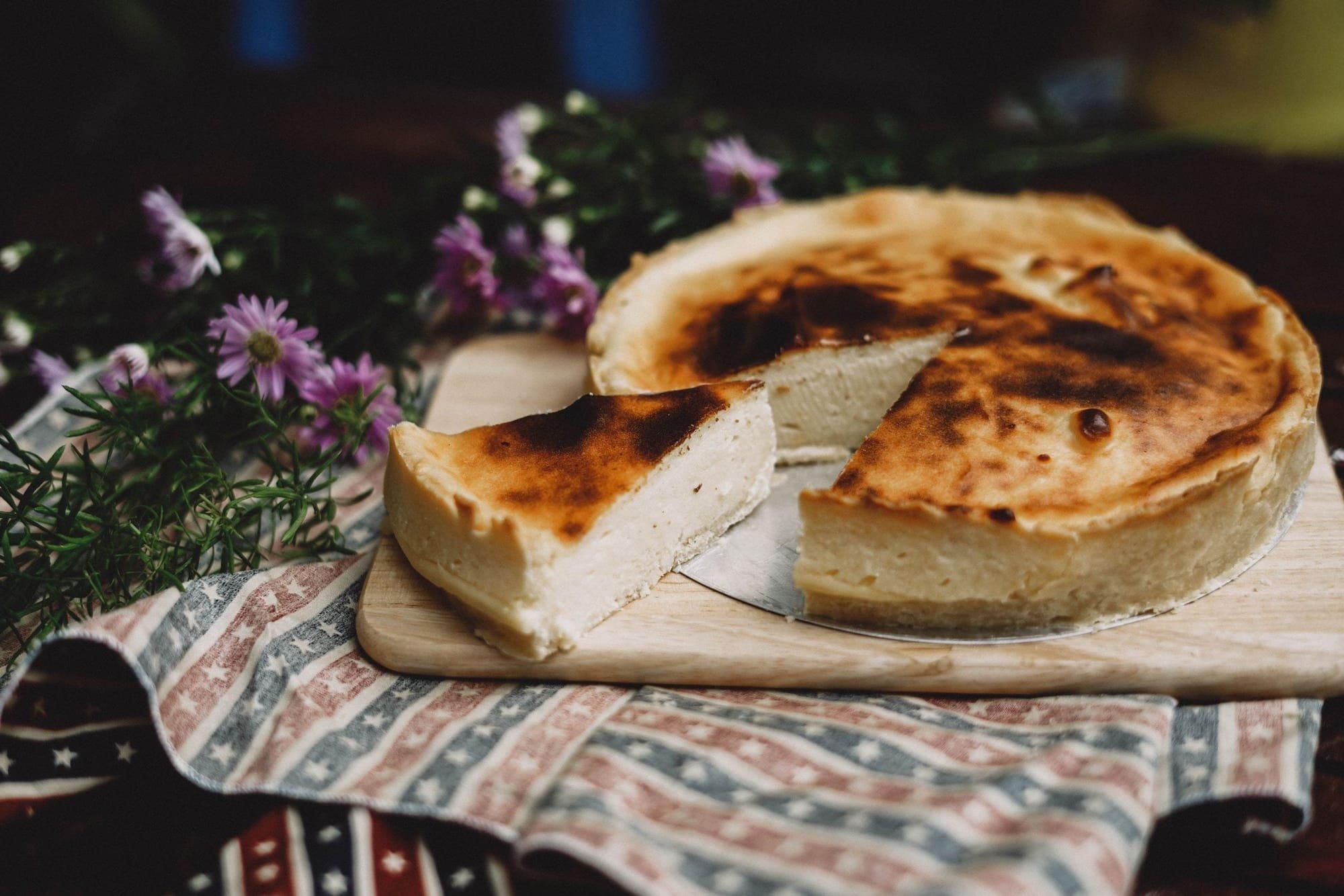 עוגת גבינה ושוקולד
