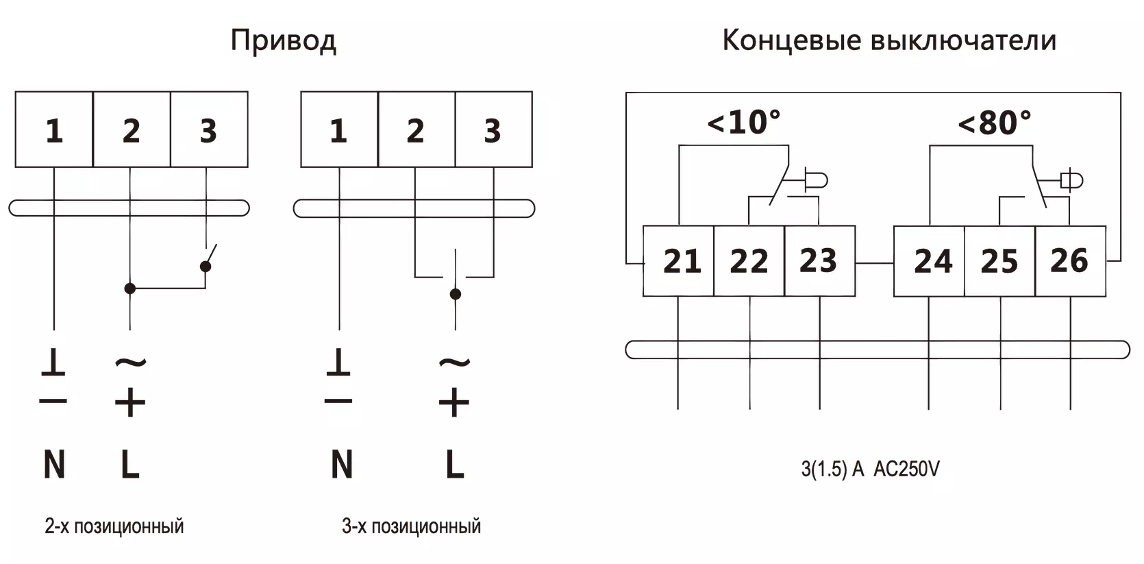схема подключения da24mu24-d/ds