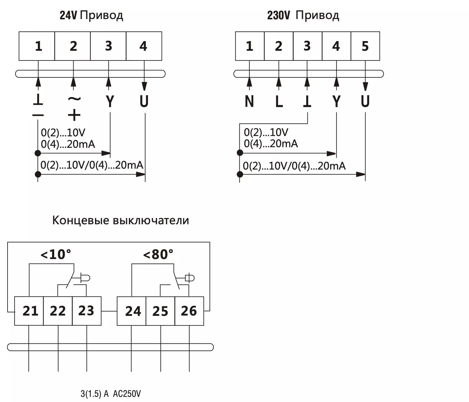 da4mu230-a схема подключения