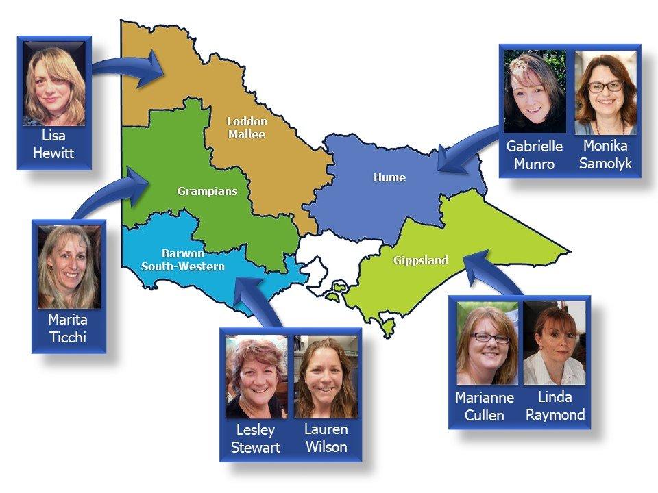 Map of RWV Regions