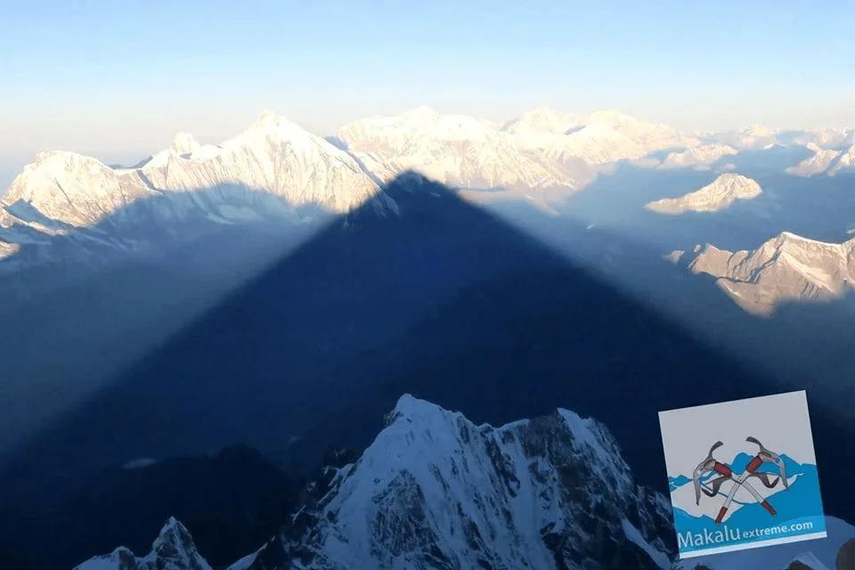 Панорама с вершины пика Манаслу (8156)