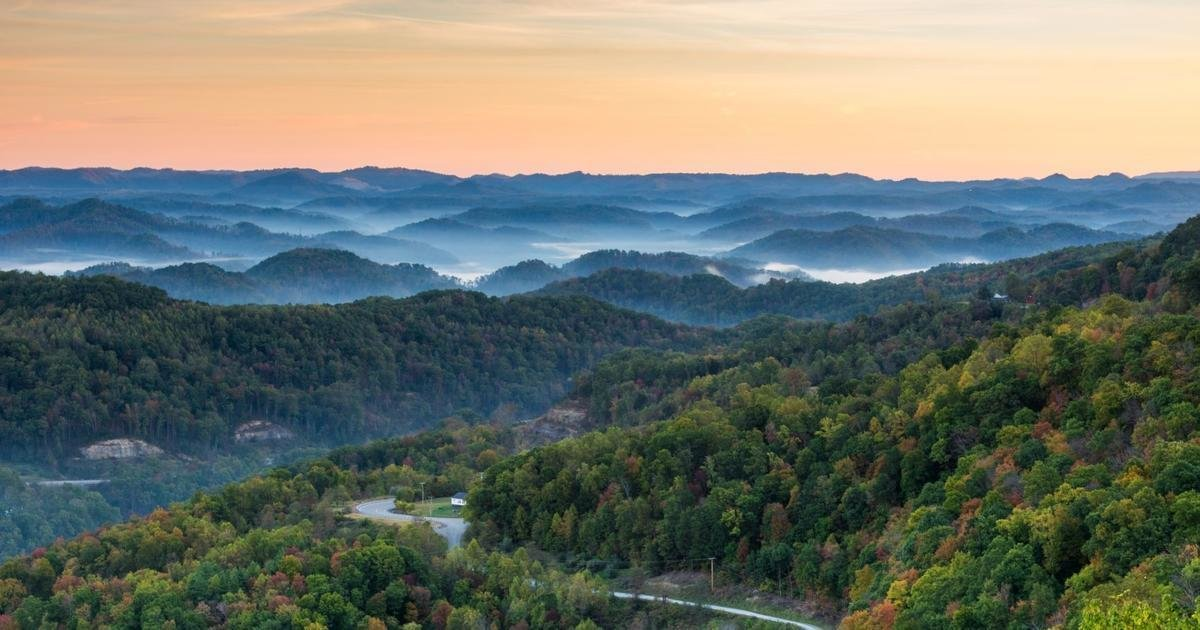 Sunrise on Eastern Kentucky