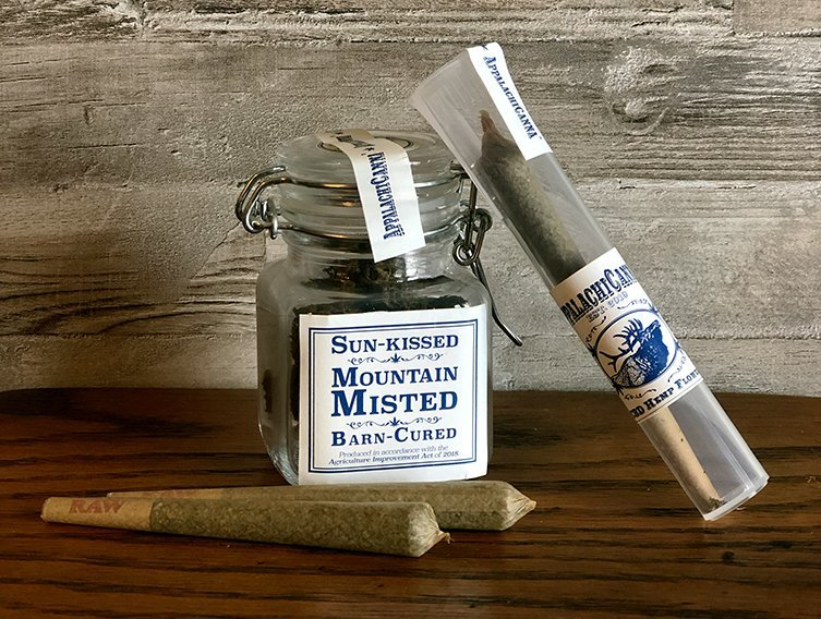CBD Preroll, CBD nugs, Appalachia Cannabis Company, AppalachiCanna, hemp preroll, hemp cigarette