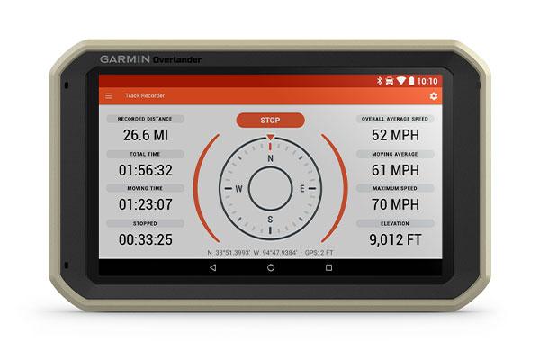 GPS GARMIN Overlander enregistrer vos marques