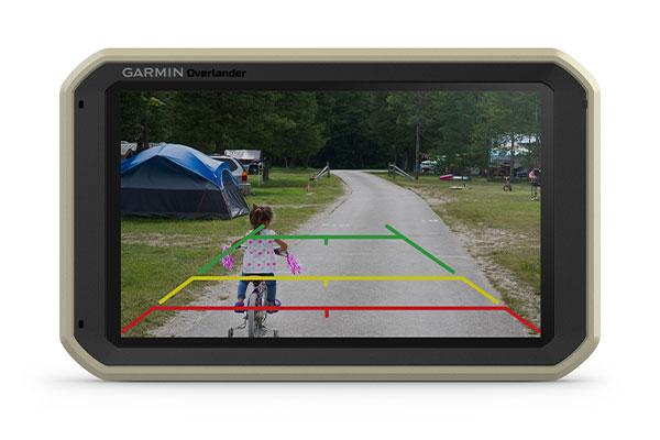 GPS GARMIN Overlander caméra de recul