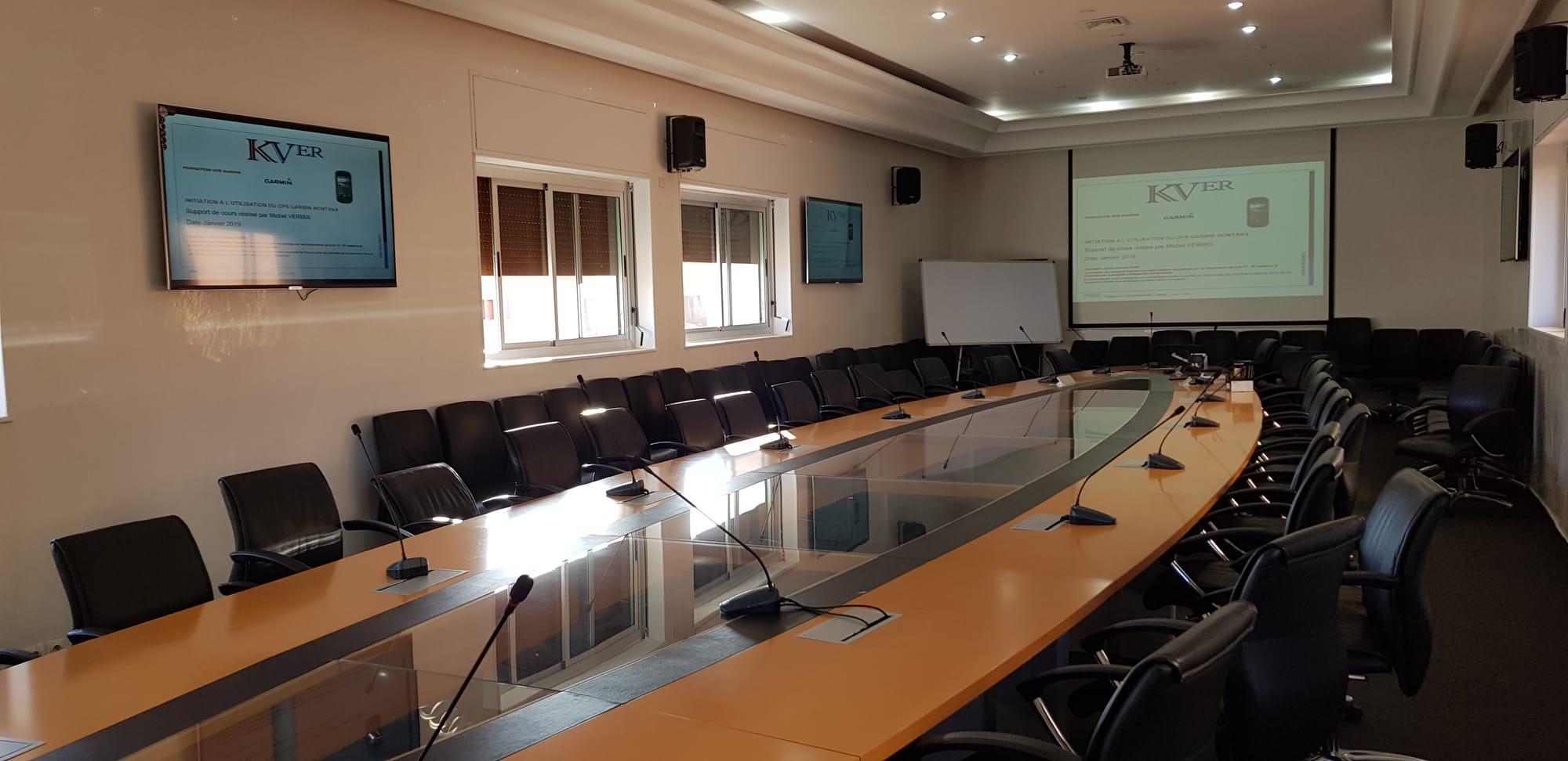 Formation sur les GPS GARMIN Maroc avec KVER Group