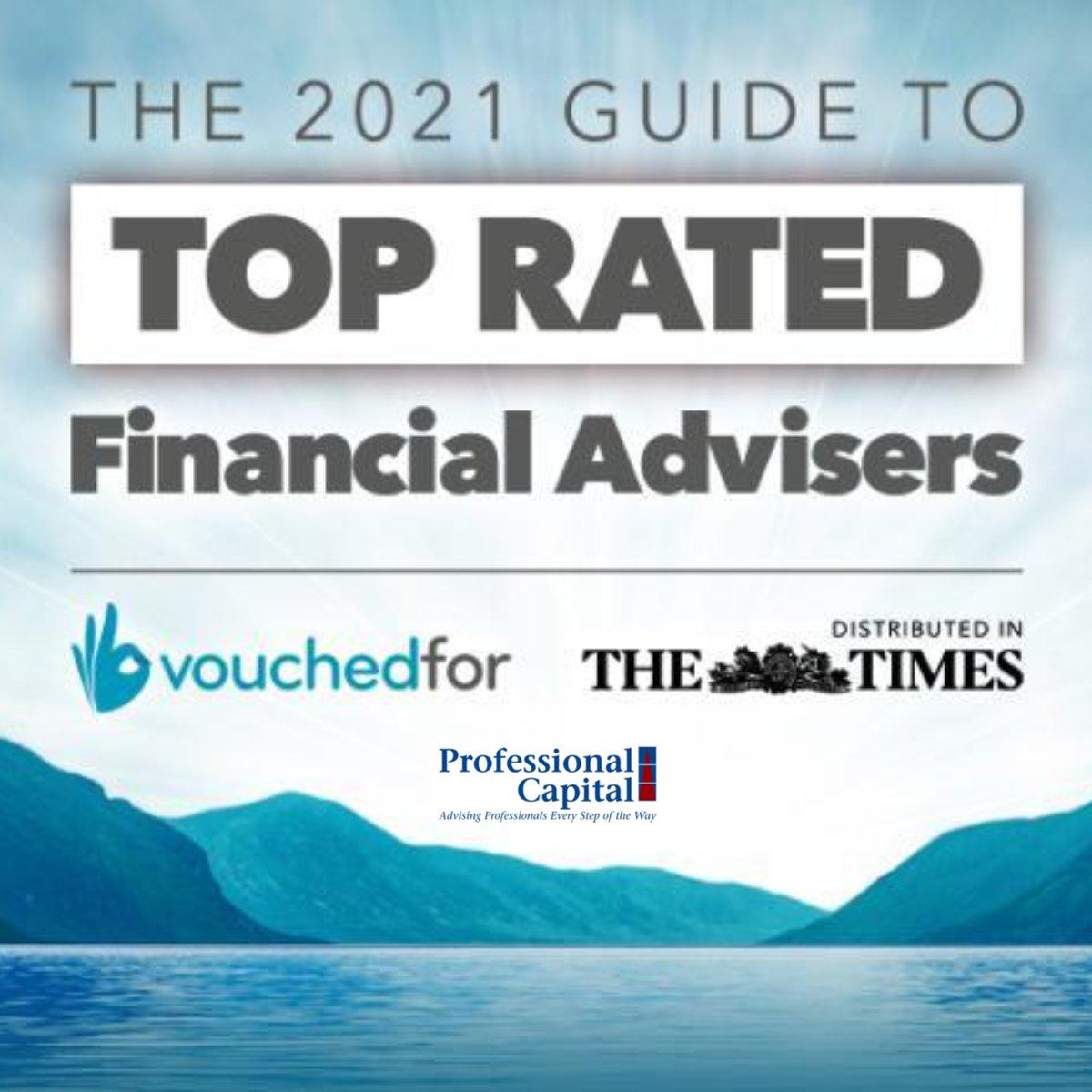 Vouchedfor 2021 UK's Top Financial Advisers