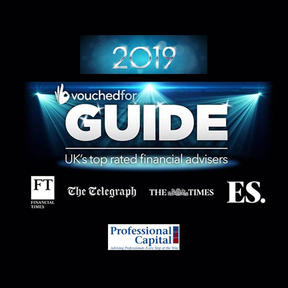 Vouchedfor 2019 UK's Top Financial Advisers