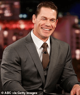 Impressed: Cena was incredibly impressed with the video, and shared his excitement about it on Twitter