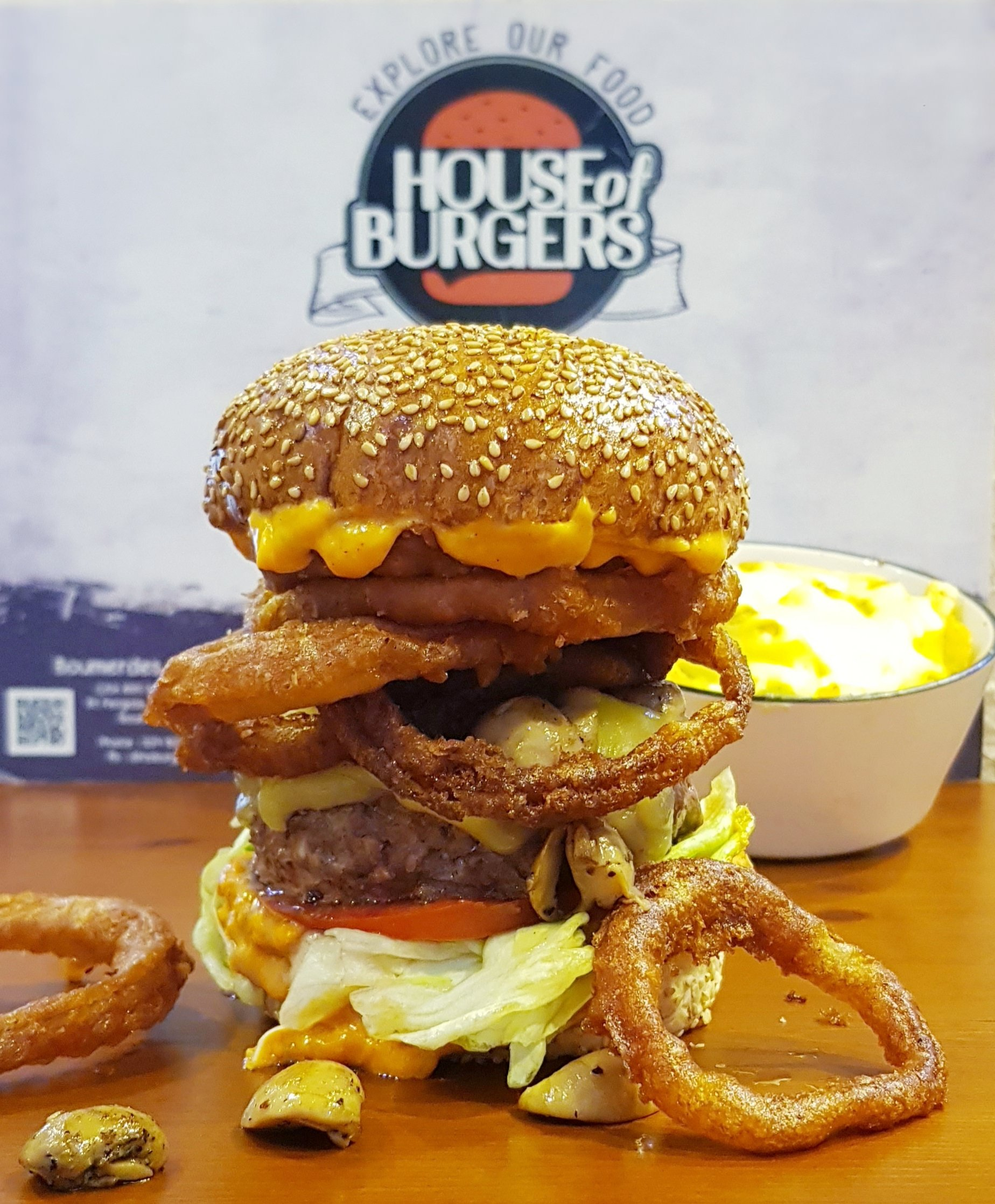 Nouvelle Pépite : The Ultimate Burger by House of Burgers, Désormais disponible dans tous vos établissement House of Burgers