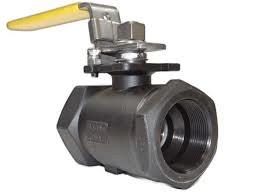 Threaded valve end