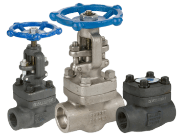 Forged valves materials