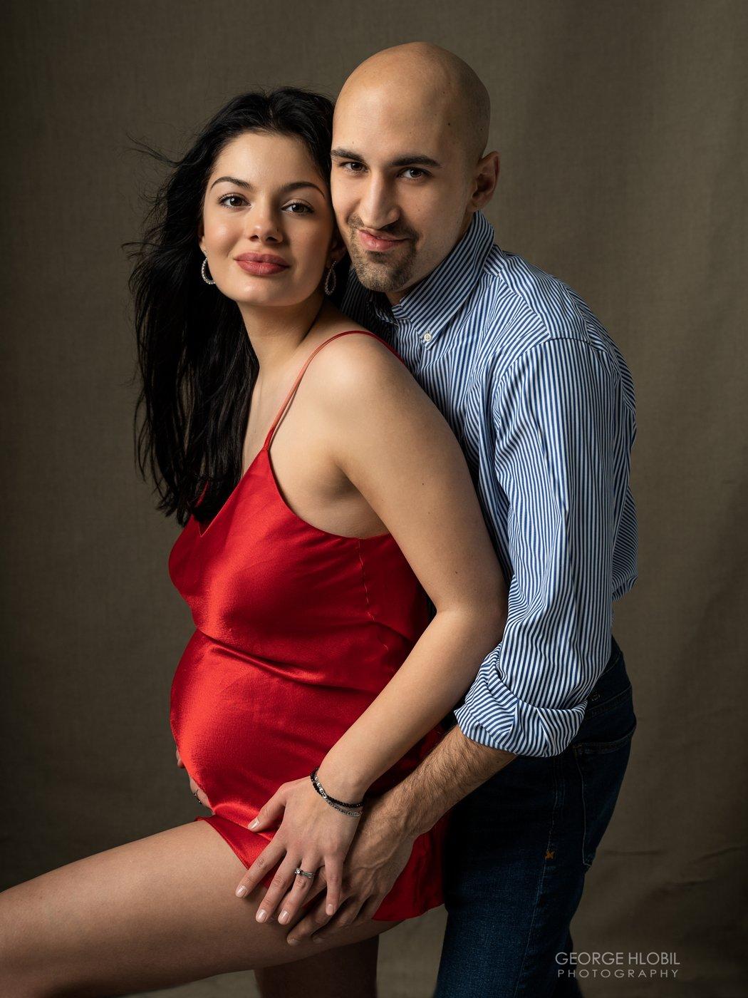 Portrétní fotografie těhotenství