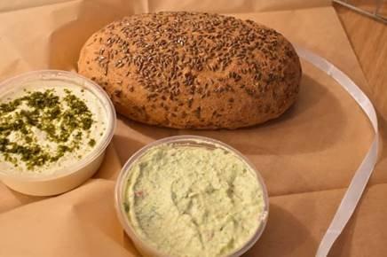 אינה ברזק סדנת לחם מחמצת טבעוני