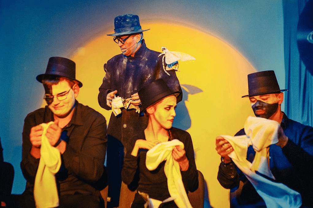 """Спектакль """"Цирк Принтинпрам имени Даниила Хармса"""" Благотворительный фонд """"Верба"""""""