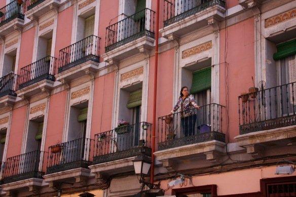 Balcones de Madrid Antes