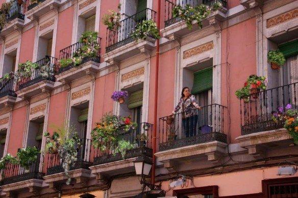 Balcones de Madrid Después
