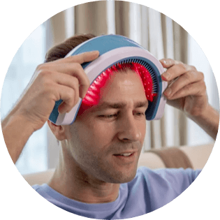 Home laser treatment for hair growth