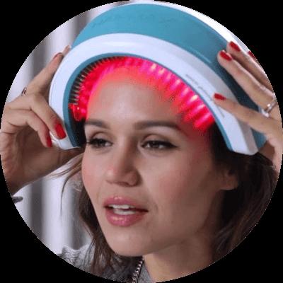 Laser helmets for hair growth
