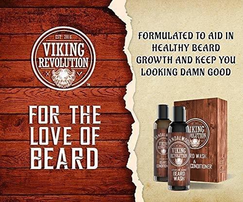 Beard Wash & Beard Conditioner viking revolution