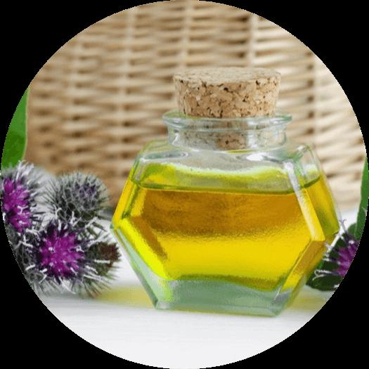 burr oil for hair loss