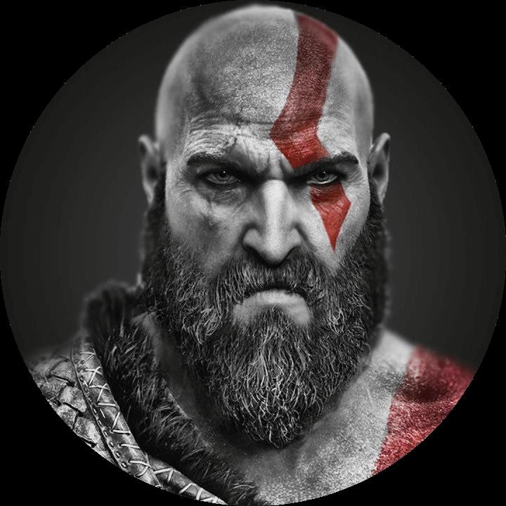 How to grow a beard? Kratos