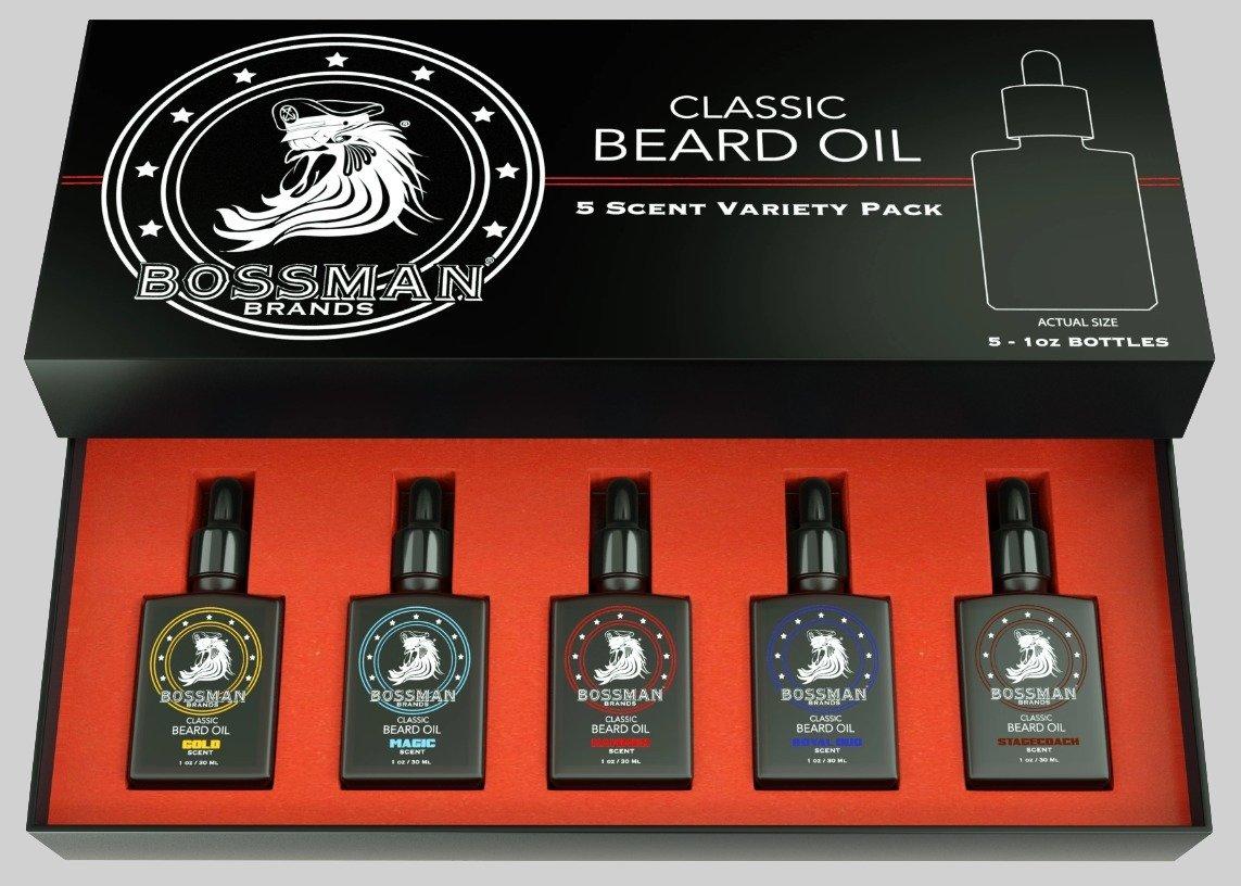 Oils for beard care bossman brands