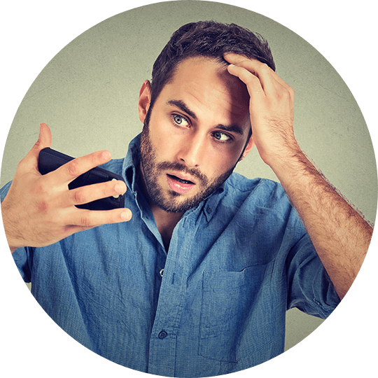 HAIR LOSS CAUSES IN MEN AND WOMEN