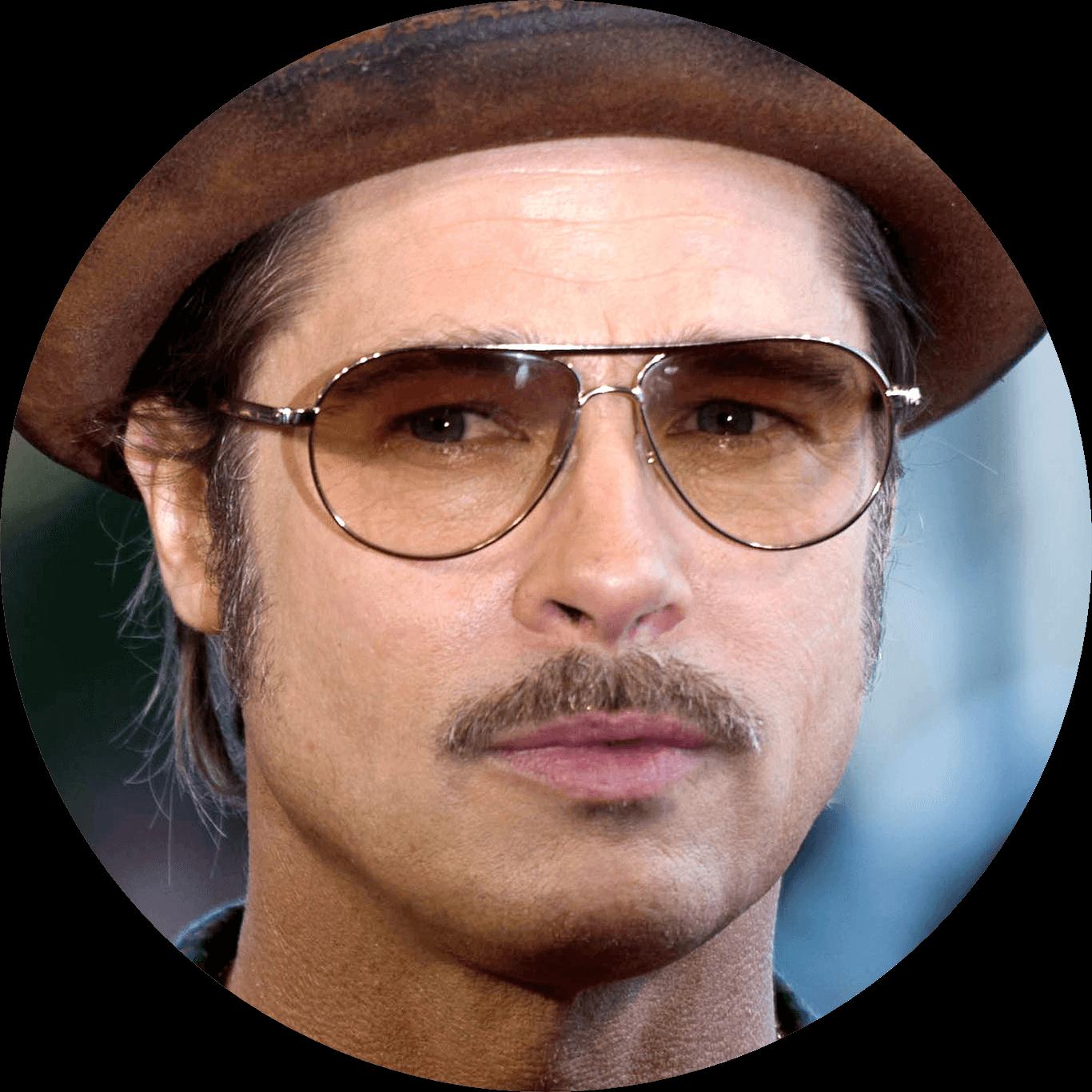a mustache