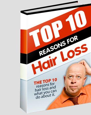 top 10 reasons for hair loss
