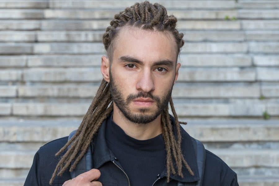 dreadlocks long hairstyle