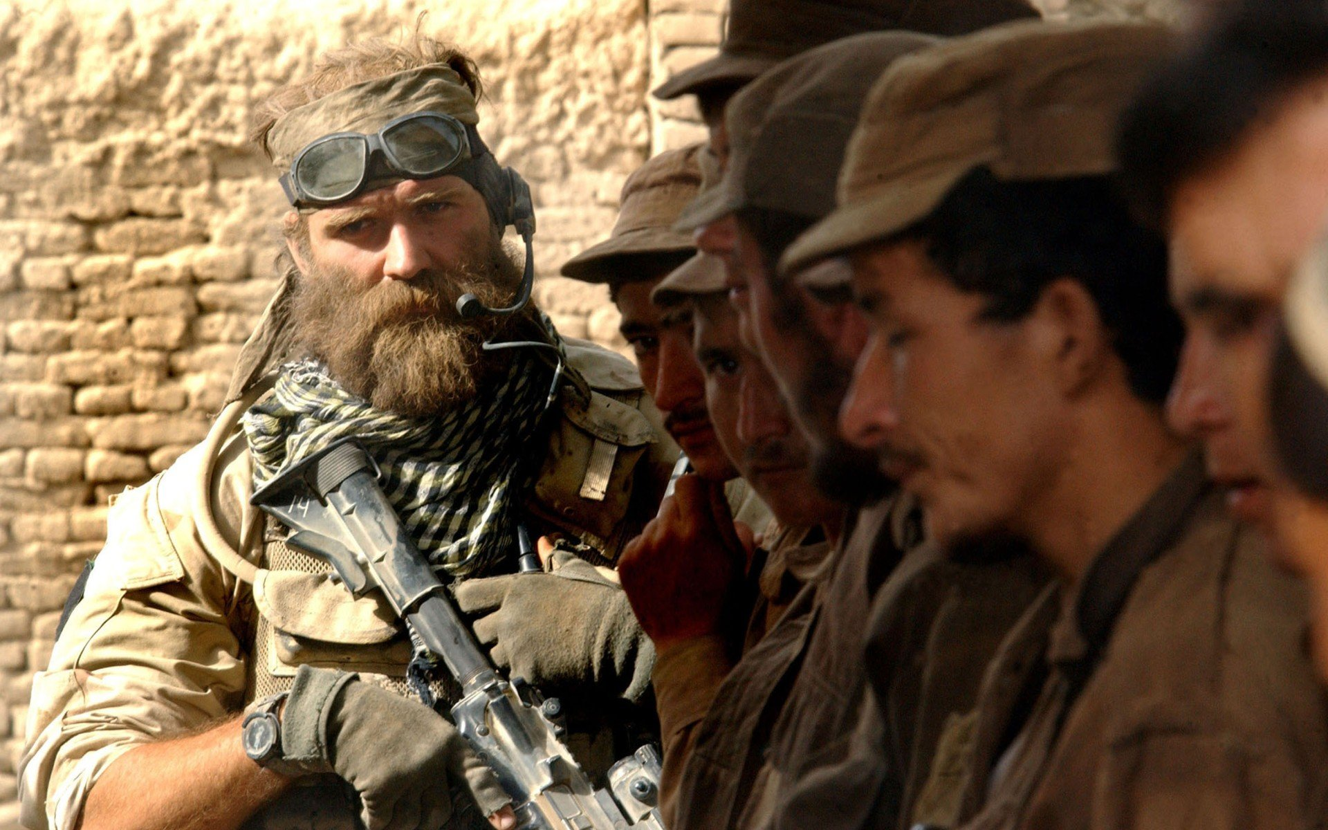beards in an army