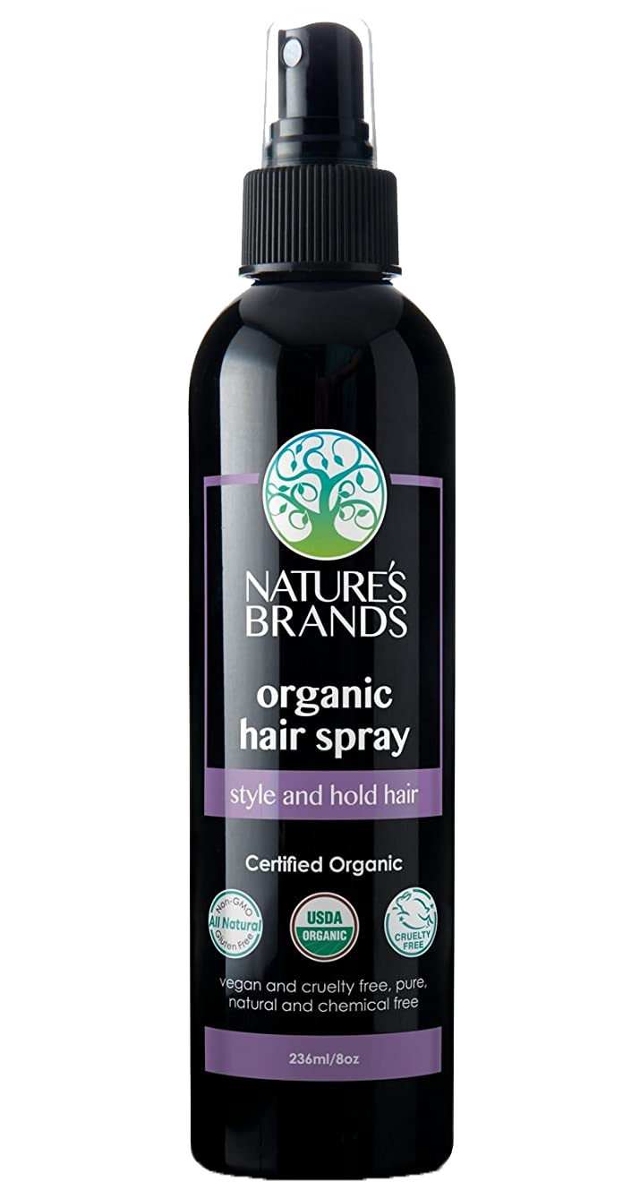 Organic Hair Spray by Herbal Choice Mari