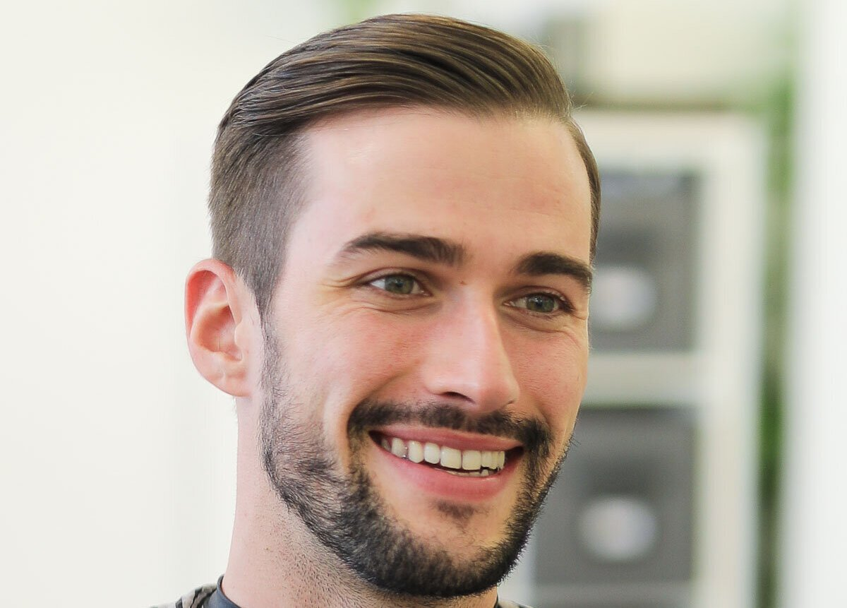 classic hairstyle men