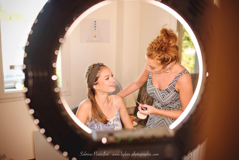 Cour de maquillage avec Anais Faure maquilleuse Montpellier